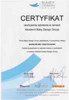certyfikat babydesign