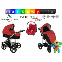 Bebetto Nico Plus + Maxi Cosi Cabrio Fix